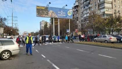Одесситы протестуют против карантина выходного дня: предприниматели перекрыли дорогу