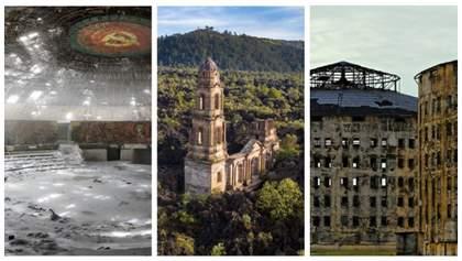 11 неймовірно моторошних покинутих місць світу: ці фото доводять до сліз