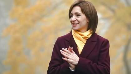 В ЄС розповіли, що очікують від нової президентки Молдови Майї Санду