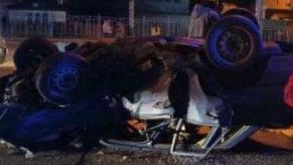 Водитель не пристегнулся: в Броварах произошло смертельное ДТП с опрокидыванием – видео