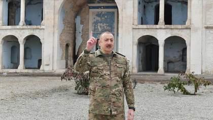Алієв відвідав Агдам – центр першого району, який Вірменія звільнила за домовленостями: фото
