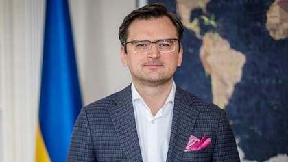 Украина будет настаивать на выводе российских сил из Приднестровья, – Кулеба