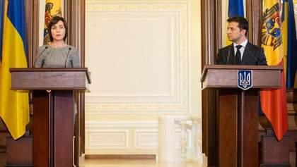 Я підтримую Санду і симпатизую Молдові з таким лідером, – Зеленський