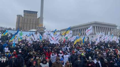 У Києві знову протестують ФОПи: що відбувається – відео