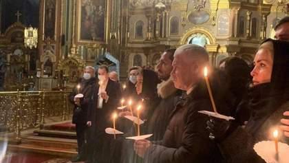 Спи, мій хороший, – цивільна дружина Кернеса опублікувала відео з його похорону
