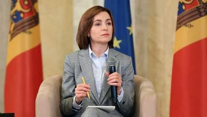Санду готова здійснити офіційний візит у Москву й обговорити придністровський конфлікт