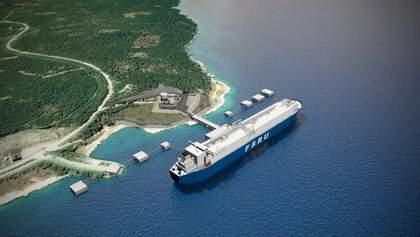 Звільнення від російської газової голки: у Хорватії запустили термінал скрапленого газу зі США