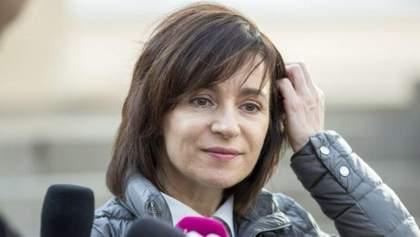 Майя Санду 12 января посетит Украину: первые детали о визите президента Молдовы