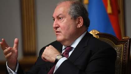 Почув невтішний діагноз: президент Вірменії Саркісян інфікувався COVID-19
