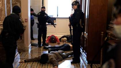 Несколько человек получили ранения в результате столкновений у здания Конгресса в США, – СМИ