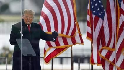Трамп отправил в захваченное здание Капитолия Нацгвардию: фото