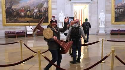 Часть сторонников Трампа покинула здание Конгресса, – СМИ