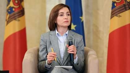 """Створення """"кола довіри"""": Санду виступила за зближення України, Молдови та Румунії"""