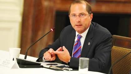 Глава МОЗ США подав у відставку через заворушення у Вашингтоні