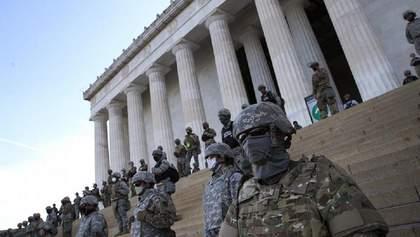 Інавгурація Байдена: з усіх штатів у Вашингтон прибудуть 25 тисяч військових Нацгвардії