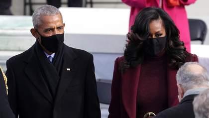 Мішель Обама вразила образом на інавгурації Байдена: фото розкішного виходу