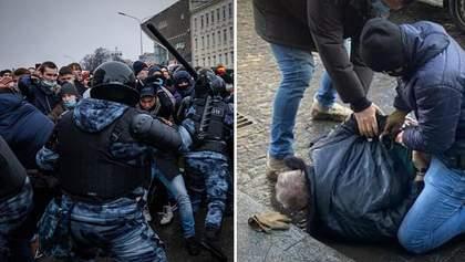 Головні новини 23 січня: протести з сутичками за Навального, нові деталі замаху на керівника СБУ
