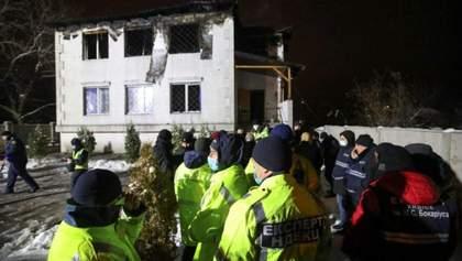 Чотирьом затриманим через пожежу у будинку престарілих оголосили про підозру