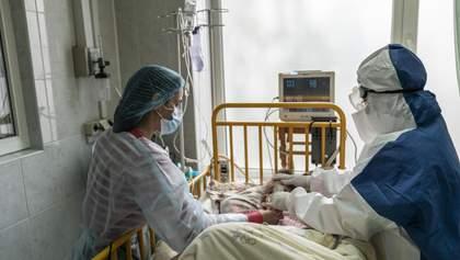 В Украине ожидают роста смертности от COVID-19-до 400 летальных исходов в сутки