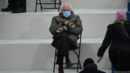 Завдяки мемам: Берні Сандерс з інавгурації Байдена зібрав 2 мільйони доларів на благодійність
