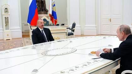 Конфлікт у Карабасі: Путін поговорив із Алієвим – деталі