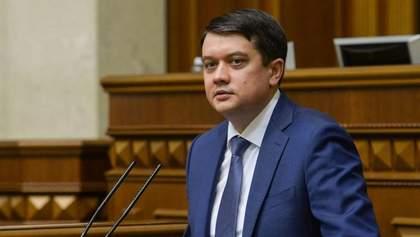 Разумков не підтримав санкції проти Козака й каналів Медведчука, –ЗМІ