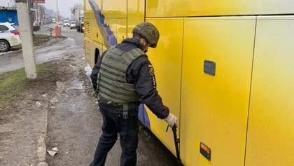 На Харківщині шукали вибухівку в автобусі, який віз прихильників ОПЗЖ
