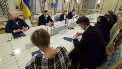 Зеленський обговорив з послами ЄС та G7 санкції проти Козака та його каналів