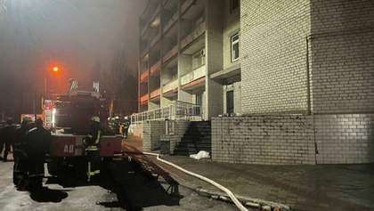 Ми разом з Україною, – у ВООЗ відреагували на смертельну пожежу в лікарні у Запоріжжі
