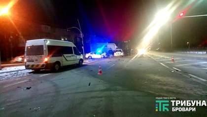 Нетверезий неповнолітній спровокував смертельну ДТП у Броварах: загинув чоловік – фото, відео