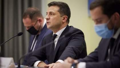 """Не наші, а їхні, – Зеленський про закриття ZIK, NewsOne і """"112 Україна"""""""