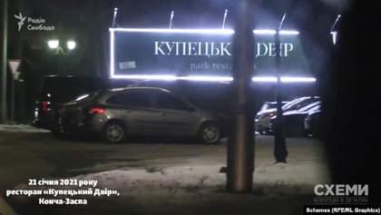 Полиция не вмешивалась: в Конча-Заспе элитные рестораны работали во время январского локдауна