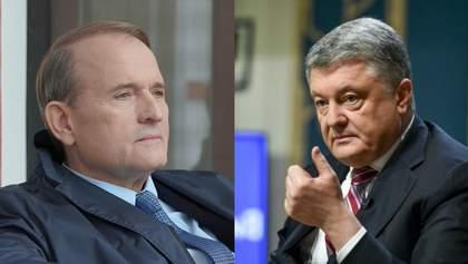 Порошенко хотів отримати вигоду від роботи каналів Медведчука, – Лещенко