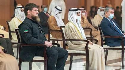 Уруський пояснив, чому в ОАЕ ходив поруч із Кадировим і має спільні фото