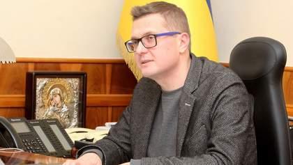 "Стерненко – ""агент СБУ"": Баканов прокоментував чутки"