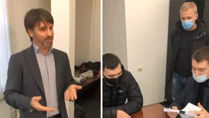 До співорганізаторів протесту за Стерненка прийшла поліція з протоколом: кажуть, хотіли в туалет