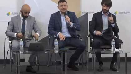 """Адвокати Стерненка журналісту каналу """"Наш"""": Ви по інший бік барикад – відео"""