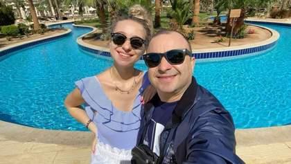 Вперше за кордоном, – вагітна дружина Віктора Павліка поділилась ніжним фото з Єгипту