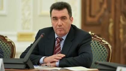 Данілов розповів, про що говоритимуть на наступному засіданні РНБО