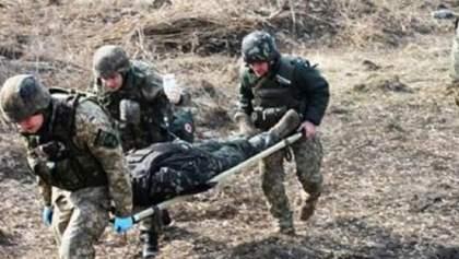 На Донбасі український боєць підірвався на осколковій міні
