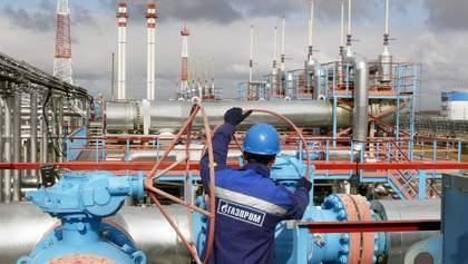"""""""Газпром"""" увеличил транзит газа через Украину"""