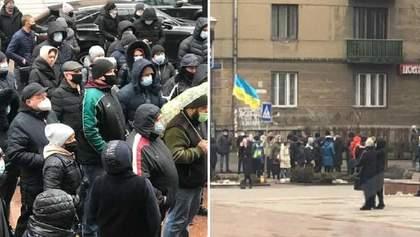 Прикарпатье и Буковина протестуют из-за введения жесткого карантина: фото