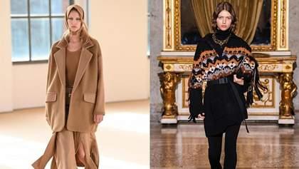 Тренди осені представлені на Тижні моди в Мілані: 8 найважливіших елементів гардеробу