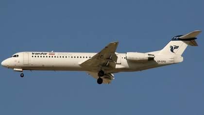В Иране пытались угнать пассажирский самолет прямо во время полета