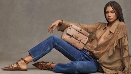 Актриса Зендая снялась в чарующей рекламе Valentino: фото и видео