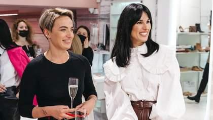 Маша Ефросинина представила во Львове собственный бренд одежды Mashsh: фото
