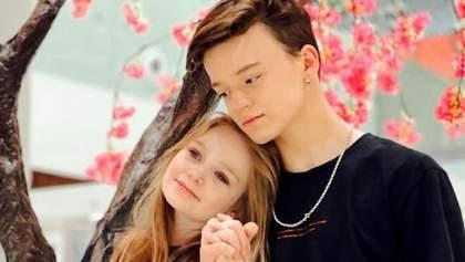 Діти не живуть разом, – мама 8-річної блогерки прокоментувала стосунки дочки з хлопцем