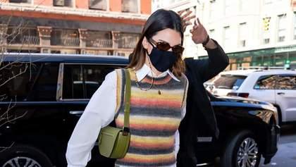 Этот образ вы захотите повторить: Кендалл Дженнер показала, как носить трендовый наряд