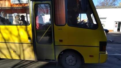 На Закарпатті відновили роботу громадського транспорту