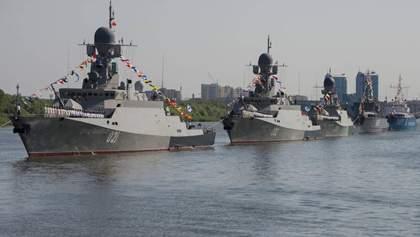 Росія перекидає в Чорне море судна Каспійської флотилії